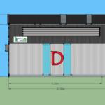 #โกดังหลังบ้าน #โกดังขนาดเล็ก #โกดังราคาถูก - รับสร้างโกดัง โรงงาน คลังสินค้า บ้านน็อคดาวน์ แบบสำเร็จ DD Warehouse
